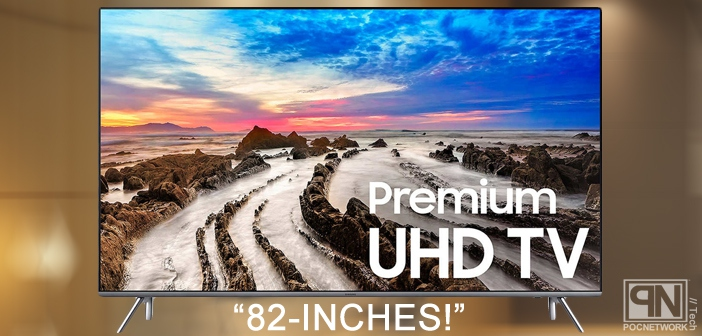 Samsung's massive new 82-inch 4K TV (UN82MU8000)